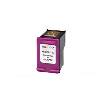 Tinteiro Compativel HP 302XL Color Versão 3